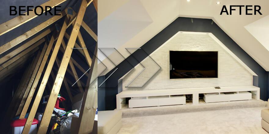 Loft Conversion In Wilmington Kent Architects Bluelime